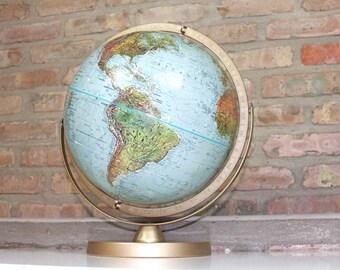 """World Globe Blue 12"""" Globe"""
