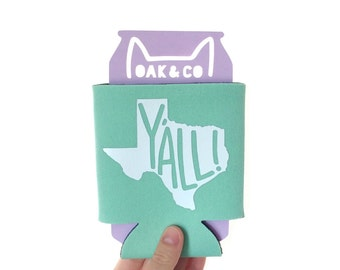 Texas // Y'all // Can cooler