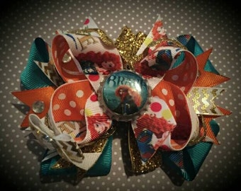 Disney's Brave bottle cap bow