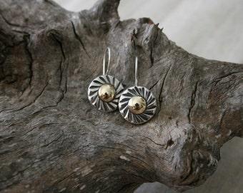 Sterling Earring, Silver Earring, Handmade 925 Silver Earring, Israeli Designer, Everyday Wear Earrings, Dangle Earrings
