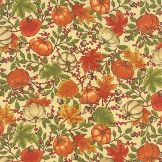 Welcome Fall Moda Quilting Fabric By Deb Strain All