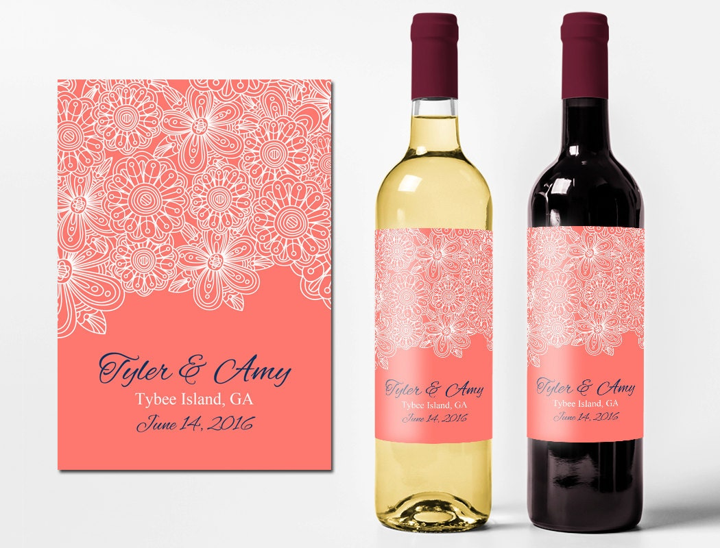 Customized Wine Bottle Labels Free 15 Best Wine Labels Images On ...
