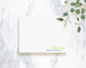 Note Card Set | Simply in Love | Couples Stationery | Thank You Cards