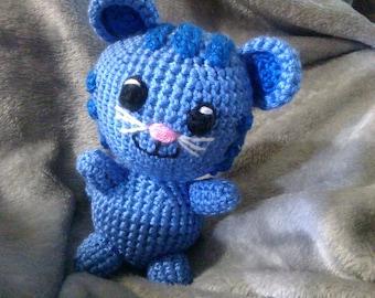 Crochet Daniel tiger inspired Tigey