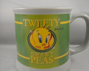 Tweety Bird Tweet Brand Sweet Peas Mug