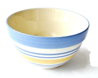Bowls Pfaltzgraff, Kitchen Bowls, Serving bowl, Blue bowl, Ceramic Bowls, Batter Bowls, Mixing Bowls, Collectible Bowls