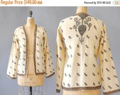30%OFF 1920s Embroidered Jacket / Eastern Adventures Jacket / 20s