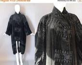 30%OFF 1920s Egyptian Coat / Velvet Beaded Coat / 20s