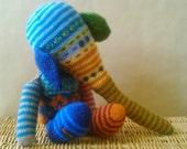 Teddy,  teddy elephant reserved for Bev