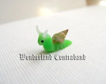NEW - Micro Snail - Miniature Sculpture