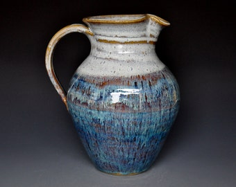 Waterfall Pottery Ceramic Pitcher Stoneware Pitcher Ceramic Jug A