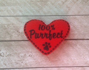 Catnip Cat Toy-Heart