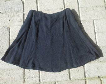 Express Vintage Black Mini Skirt XS