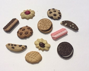 In The Cookie Jar Magnets / Set of Eleven Magnets /  Fun Magnets / Cookie Magnets / Food Magnets