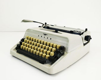 Adler J2 Typewriter / 1970s Working Portable West Germany