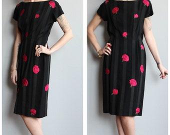 1950s Dress // MIMI TUTHILL Rose by Rose Dress // vintage 50s dress