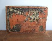"Bull Durham Tobacco Antique Metal Sign ""S.O.S."""