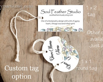 ROCK HAVEN•Custom Tags•Labels•Earring Display•Clothing Tags•Custom Hang Tags•Boutique Card•Tags•Custom Tags•Custom Labels