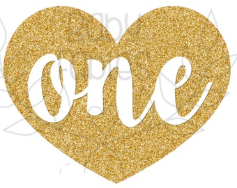 Birthday IRON ON transfer, Birthday Girl, Birthday, Birthday Party Iron on, Gold Heart 1st Birthday, First Birthday, Glitter Look, Sparkle