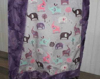 Baby Blanket,Ships Today Minky baby blanket- baby blanket,all minky blanket 30 x 38