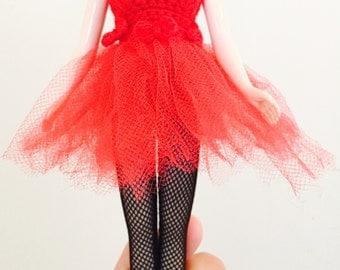 Blythe Ballerina Dress - Red
