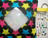 I Spy Bag Bright Stars Neutral themed contents girls boys seek and find game party favor sensory occupational therapy