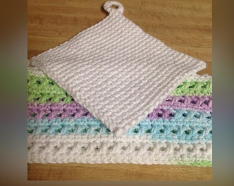 Potholder and Washcloth Set