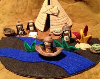 Native American Teepee play set