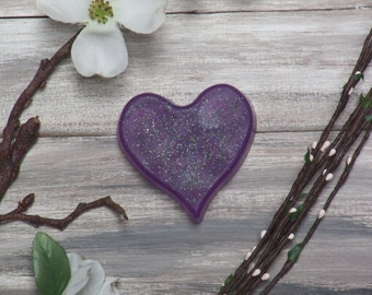 clear heart soap glycerin soap with poppy seeds