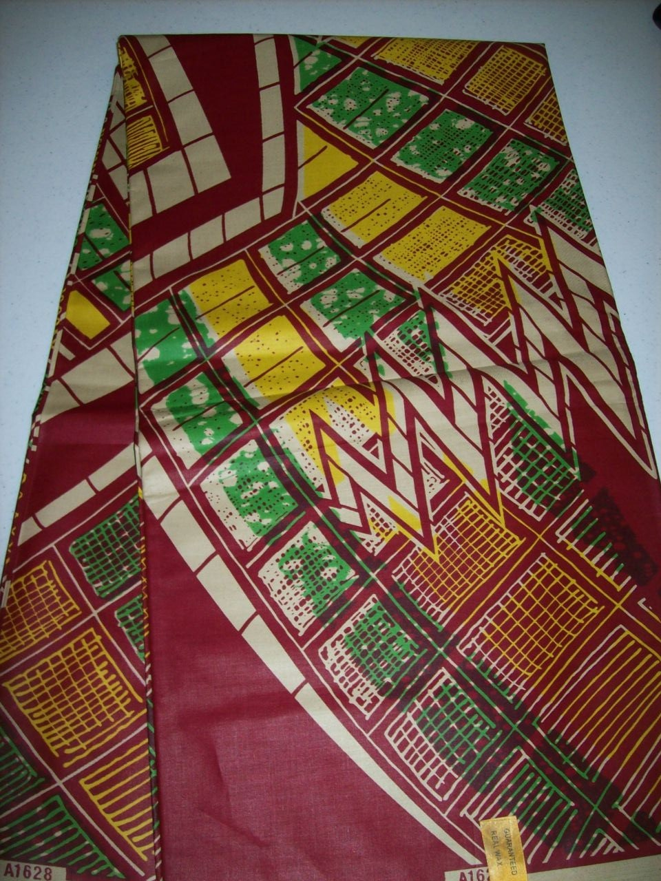 New Holland Wax print fabric 6 Yards/African print online