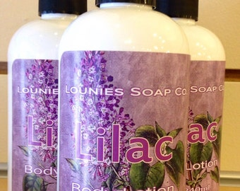 Lilac Lotion 8oz