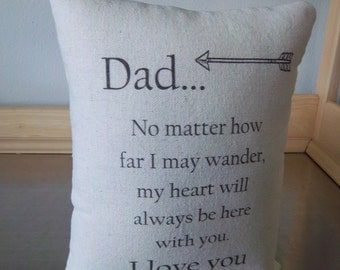 Best dad gift pillow father pillows cotton throw pillows to dad from son love quote dad gift to dad from daughter canvas cushion home decor