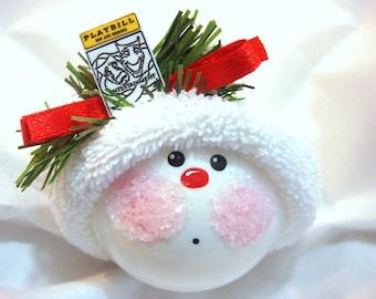 Drama Theater Ornament Playbill Christmas Townsend Custom Gifts - F