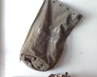 VIntage RAAF Duffle Bag/Sack