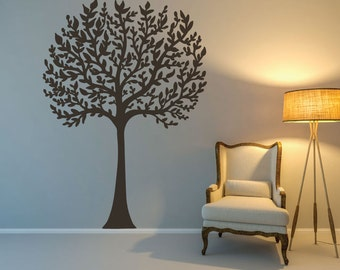 Tree Decal - Tree Wall Decal - Nursery Tree Decal - Family Tree Decal - Nursery Wall Decals - Nursery Decor - Wall Decor - Wall Decals