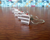 Clay Cake Knit Stitch Markers- Set of 5 Size US 10/ 6mm