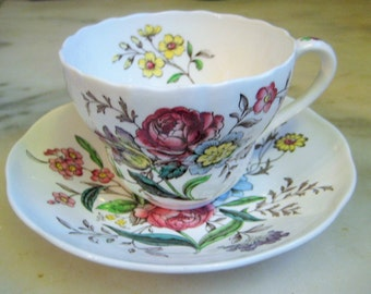 Copeland Spode,  England, Gainsborough S245 Cup and Saucer, Great Britain, 2 pc set
