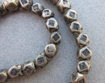 African Tuareg Silver Beads