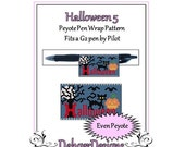 Bead Pattern Peyote(Pen Wrap/Cover)-Halloween (5)