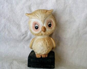 Weather Forecaster Owl - Vintage 1975
