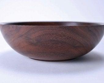 Wild Black Walnut Wooden Bowl #1486