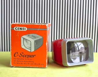 Cenei C - Scoper Viewer for Slides 5 x 5 cm Made in Germany in the 50s