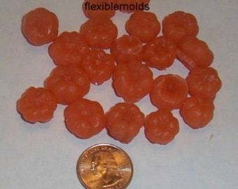 Mini Pumpkins (Putka Pods) Soap & Candle Mold- 9 Cavities