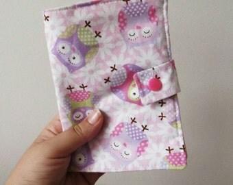 Little Owls Crayon Wallet