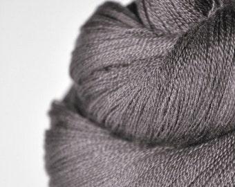 Gothic walnut wood - Merino/Silk/Cashmere Fine Lace Yarn