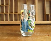 Empire Strikes Back Collectible Glass Star Wars Yoda Luke Skywalker 1980 Drinking Glass The Force Awakens