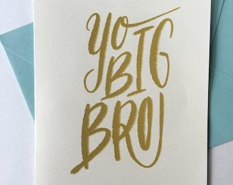 Yo Big Bro, Happy Barfday!