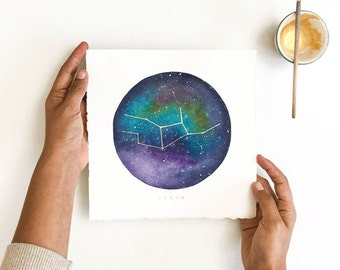 Constellation – Custom Watercolor