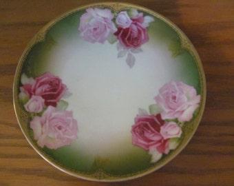"Bavaria hand=painted plate ""Rapallo"" by Thomas Severes"