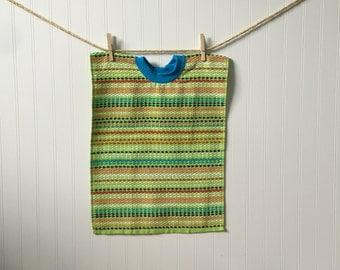 Towel Bib, green XL toddler bib, pull over towel bib, terry towel bib, baby and child care, baby gift, baby feeding, large bib, boy bib